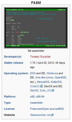 آموزش زبان اسمبلی (FASM (flat assembler (قدم اول)